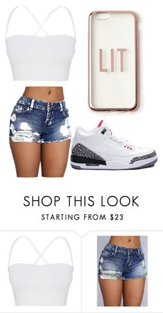 """""""LIT💯"""" by jackiebujanda on Polyvore featuring Theory, NIKE and Missguided"""