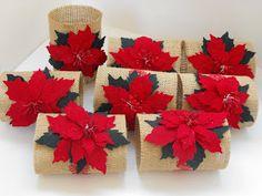 Robe di Robi: La tavola delle feste Christmas Messages, Christmas Tea, Christmas Crafts, Christmas Decorations, Christmas Ornaments, Xmas Gifts, Diy Gifts, Poinsettia Flower, D Craft