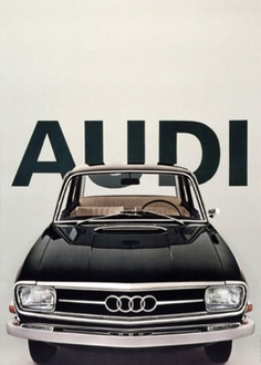 Audi 100  Mine was a 1972 tan over beige! Loved that car <3