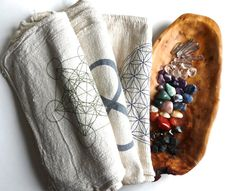 CRYSTAL HEALING KIT  38 stone set chakra stones by CrystalGrids