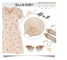 """Summer Hat"" by linkfari ❤ liked on Polyvore featuring River Island, Uttermost, Gucci and summerhat"