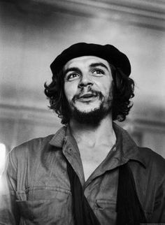 ......Che.     Iconic image,any where in the world people recognize this face