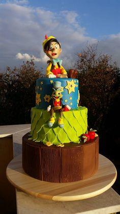 Pinocchio and Jiminy Cricket !
