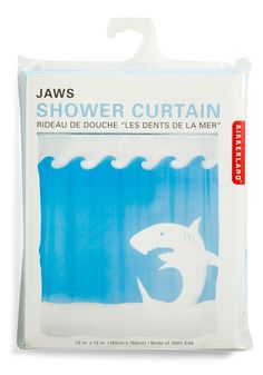 Jaw Dropping Shower Curtain $17.99