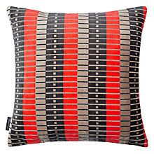 Buy Kirkby Design by Romo Marylebone Cushion, Neo Orange from our Cushions range at John Lewis & Partners. Routemaster, Wood Burner, London Street, Living Room Inspiration, Soft Furnishings, Cushions, Throw Pillows, Orange, Fabric