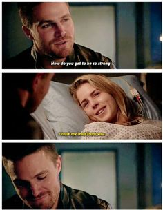Felicity Smoak even at her worst times always lighting others paths and moods, she's the best #Arrow 4x10 #Olicity
