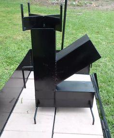 cocina a leña portatil, ecococina Barbecue Pit, Bbq Grill, Outdoor Fire, Outdoor Decor, Rocket Stoves, 1, Ovens, Rockets, Wood Burning
