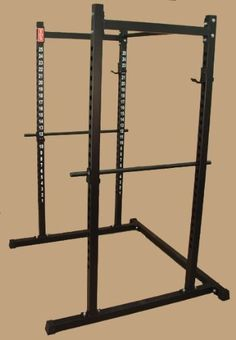 POWER RACK 72 HIGH, 2 heavy gauge square tube construction. Manufactured in the USA., #Sporting Goods, #Strength Training Equipment