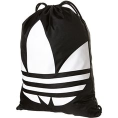 Adidas Gymsack Trefoil Backpack 15 Liked On Polyvore Featuring Bags Backpacks Day Pack Knapsack Bag And