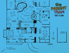 Petrie 39 s house floor plan from the dick van dyke show Trap house plans