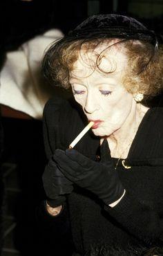 Bette Davis, 1987