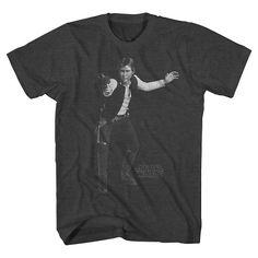 Men's Han Solo T-Shirt Heather Grey : Target