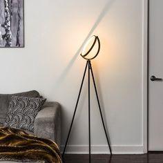 Lighting Uk, Modern Lighting, Halo, Rock Lamp, Heat Resistant Glass, Led Floor Lamp, Light Of Life, Light Architecture, Tripod Lamp