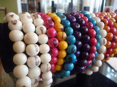 Acai bead bracelets by ElliTs on Etsy, $12.00