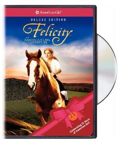 Felicity: An American Girl Adventure - I still watch this movie! I just realized that she was played by Shailene Woodley! American Girl Doll Movies, My American Girl, American Girl Clothes, Kid Movies, Family Movies, Movie Tv, American Girl Felicity, John Schneider, Mighty Girl