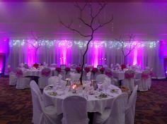 #purple #wedding #glowing