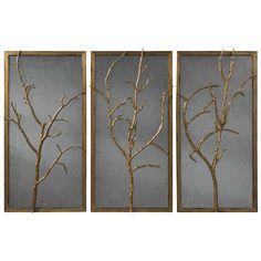 Theodore Alexander Vanucci Eclectics Hawthorn Trio Wall Decor