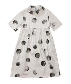 Dress Margo Collar light grey