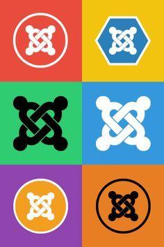 #Joomla logo variations