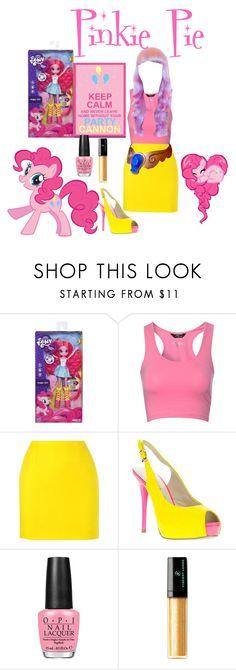 """My Little Pony's Pinkie Pie!"" by portugueseandnativeamericanchick ❤ liked on Polyvore featuring My Little Pony, Jane Norman, sass & bide, Roberto Botella, OPI, Vincent Longo, Nicki Minaj, women's clothing, women's fashion and women"