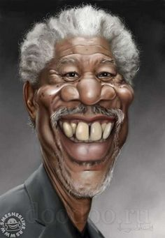 Very funny caricatures of famous people, and also very well made.
