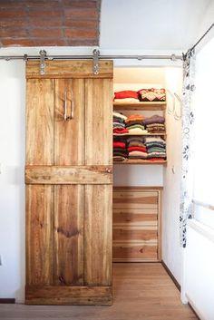 Vintage Massivholz Begehbarer Kleiderschrank treetrends treetrends