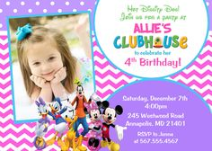 Mickey Mouse Clubhouse Birthday Party by PrettyPaperPixels on Etsy Mickey Mouse Clubhouse Birthday Party, Minnie Mouse Party, Mouse Parties, Baby Birthday, First Birthday Parties, Birthday Ideas, Birthday Numbers, Birthday Party Invitations, Birthdays