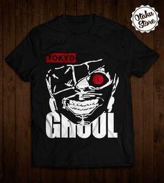"Anime ""Tokyo Ghoul"" t-shirt. Anime DTG print."