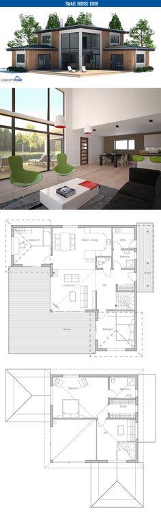 Modern Minimalist House Plan   House Plans, Contemporary Modern ...