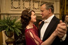 Cora and Robert in Downton Abbey Series 4, Part 5
