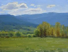 Spring in the Valley by Kathleen Dunphy Oil ~ 12 x 16