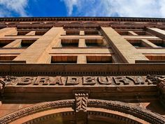 The Bradbury Building in downtown LA.