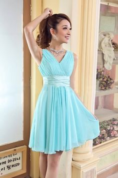Mint Tiffany Blue Lace Bridesmaids dress bridal party for wedding ...