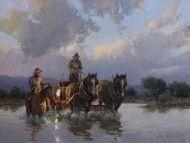 Bill Anton, Evening Crossing