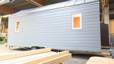 Tiny Houses in NRW (Foto: SAT.1 NRW) Tiny Houses, Garage Doors, Shed, Outdoor Structures, Outdoor Decor, Home Decor, First Apartment, House, Small Homes