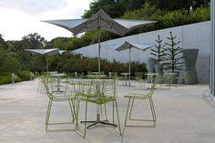 cocktail hour space / atrium at Brooklyn Botanic Garden