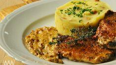Taková vepřová kotletka je velká lahůdka, a když ji navíc zapečete se smetanou a hořčicí, máte doma skvělý víkendový oběd!