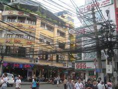 Siagon, Vietnam a busy noisy place!