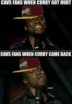 Cleveland Cavaliers fans when Steph Curry got INJURED. - http://nbafunnymeme.com/nba-memes/cleveland-cavaliers-fans-when-steph-curry-got-injured-2