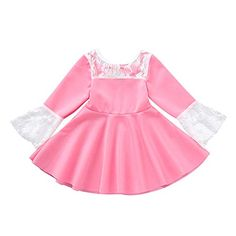 Hatoys Infant Baby Girl Long Sleeve Lace Dress Solid Bow Princess Clothes Dresses -- Star Wars is back and better than ever with tons of great options to choose from for Halloween Costumes. Check out this star wars costume and all of our others! Princess Clothes, Princess Outfits, Princess Costumes, Girls Mermaid Costume, Dress Outfits, Girl Outfits, Baby Dress Design, European Dress, Gender Neutral Baby Clothes