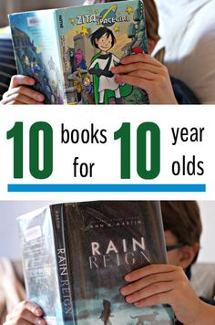 10 Exciting, Kid-Approved Books for 10 Year Olds