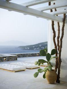 Greek terrace photographed by Vangelis Paterakis