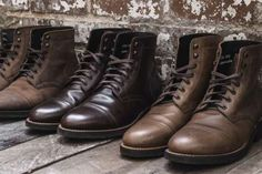 7 Reason's Why Everyone Is Obsessed With Thursday Boots Only Shoes, Men's Shoes, Dress Shoes, Red Wing Heritage Boots, Handmade Leather Shoes, Comfortable Boots, Goodyear Welt, Leather Accessories, Fashion Accessories