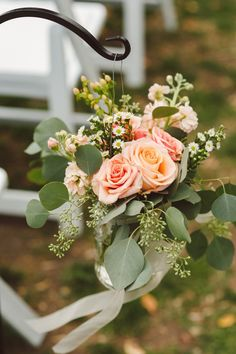 Blush and White Flor