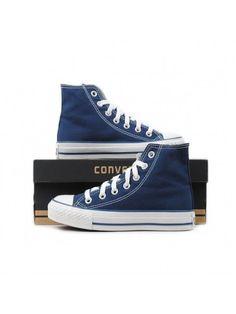295b3ba55dfd99 Converse Shoes Navy Blue Chuck Taylor All Star Classic Hi - Chuck Taylor  All Star -