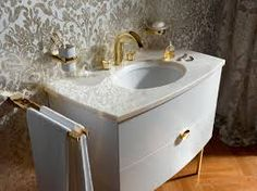 gold luxe bathrooms - Google Search