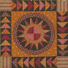 beautiful quilt block, flying geese, and ny beauty!