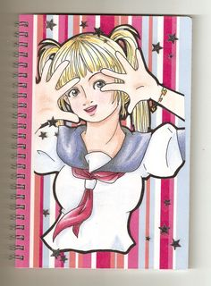 Handmade notebook notepad lined ruled by Kats13stuff on Etsy