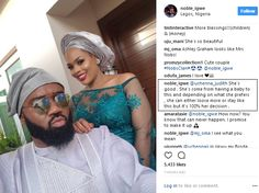 She Is Good. Its 100% Her Decision  Noble Igwe Replies Follower Who Criticized His Wifes Weight
