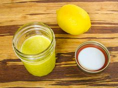 Oil and Lemon Dressing (recipe adapted from Julia Child). #CookForJulia